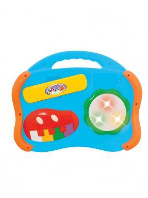Развивающая игрушка Музыкальные инструменты 6 в 1 Kiddieland. Цвет: голубой, желтый, зеленый