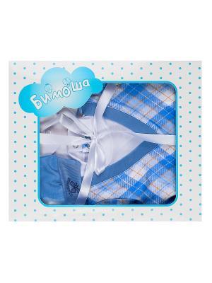 Комплект Бимоша. Цвет: светло-голубой