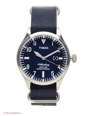 Часы TIMEX. Цвет: темно-синий