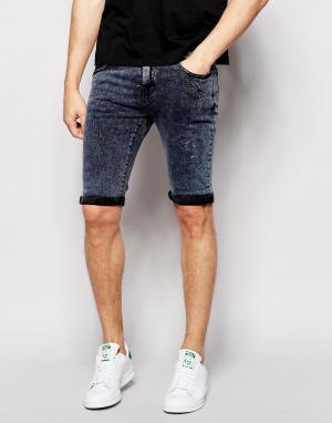 Loyalty & Faith Мраморные джинсы. Цвет: черный