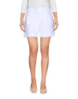 Повседневные шорты OAKS. Цвет: белый