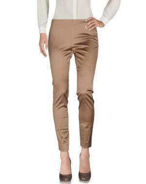 Повседневные брюки VIA MASINI 80. Цвет: хаки