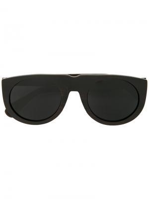 Солнцезащитные очки Retina First Aid To The Injured. Цвет: чёрный