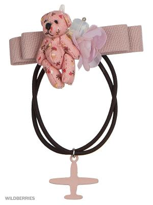 Резинка Baby Steen. Цвет: бежевый, розовый