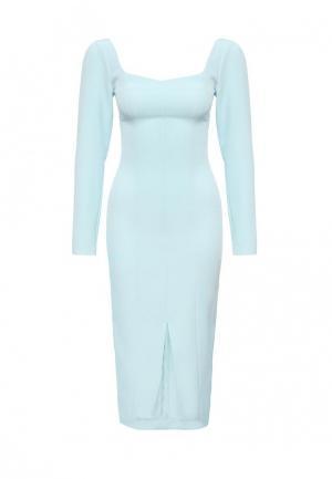 Платье Disash. Цвет: голубой
