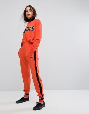 Charms Спортивные штаны с логотипом. Цвет: оранжевый