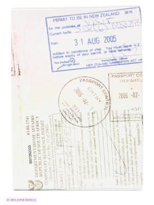 Обложка для паспорта Загран Mitya Veselkov. Цвет: бледно-розовый
