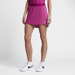 Юбка-шорты для гольфа  Zonal Cooling Swing Knit 35,5 см Nike. Цвет: пурпурный