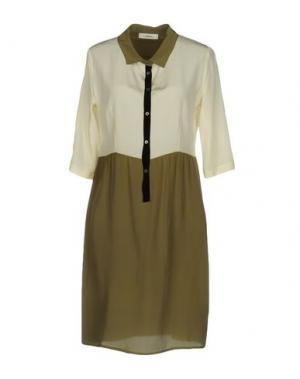 Короткое платье ..,MERCI. Цвет: зеленый-милитари
