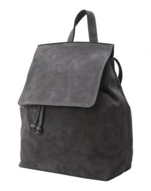 Рюкзаки и сумки на пояс MANIFATTURE CAMPANE. Цвет: свинцово-серый