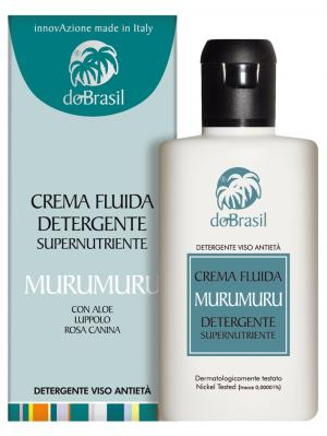 Очищаюий крем молочко для лица Мурумуру 150мл DoBrasil. Цвет: молочный