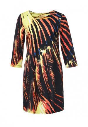 Платье Sweet Miss. Цвет: разноцветный
