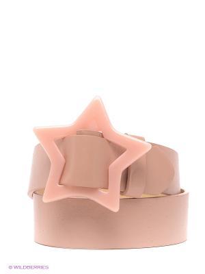 Ремень Modis. Цвет: розовый, молочный