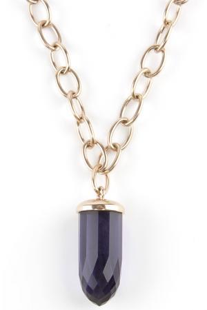 Колье Donna Lorena. Цвет: фиолетовый, золото