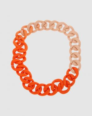 Ожерелье NUR DONATELLA LUCCHI. Цвет: оранжевый