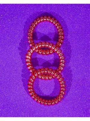 Резинки Bizon. Цвет: коралловый