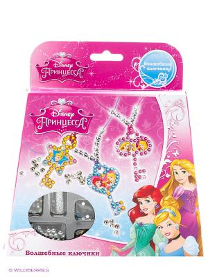 Набор  для создания украшений с ключиками, принцессы Disney Multiart. Цвет: розовый