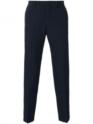 Checked tailored pants Briglia 1949. Цвет: синий