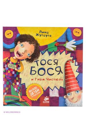 Тося-Бося и Гном Чистюля Издательство CLEVER. Цвет: фиолетовый, желтый