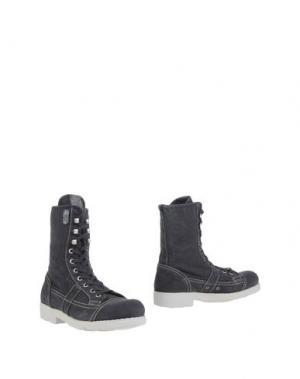 Полусапоги и высокие ботинки O.X.S.. Цвет: свинцово-серый