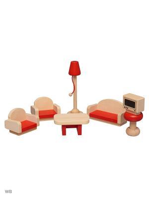 Мини-мебель Винтик и Шпунтик. Цвет: бежевый, красный