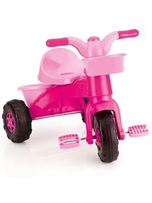 Мой первый велосипед розовый DOLU. Цвет: розовый