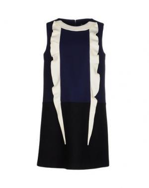 Короткое платье GIULIA ROSITANI. Цвет: темно-синий