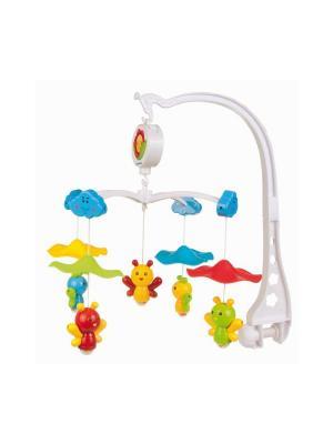 Карусель музыкальная пластиковая - пчелки под зонтом, 0+ Canpol babies. Цвет: белый