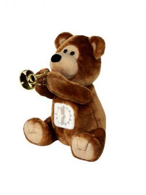 Медвежонок с таймером Ваш подарок. Цвет: коричневый