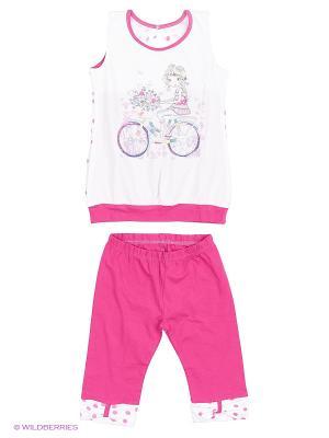 Комплект  одежды Yallo Kids. Цвет: бордовый