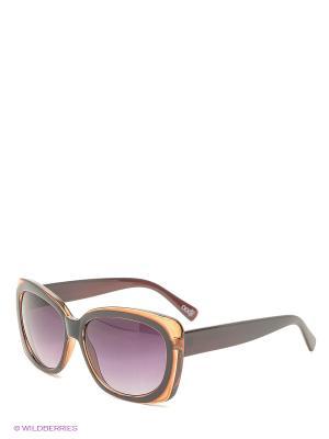 Солнцезащитные очки Oodji. Цвет: коричневый