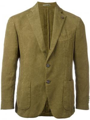 Patch pocket blazer Gabriele Pasini. Цвет: зелёный