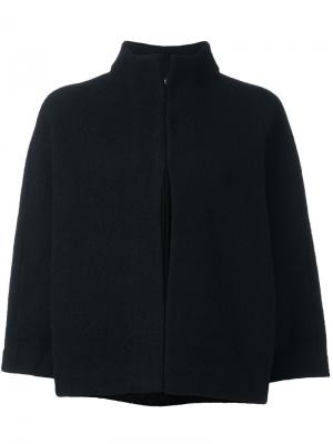 Funnel neck cropped jacket Ps By Paul Smith. Цвет: чёрный