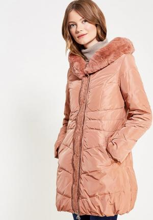 Куртка утепленная Vitario. Цвет: розовый