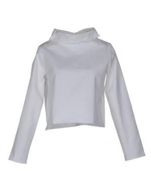 Блузка CHARLIE MAY. Цвет: белый