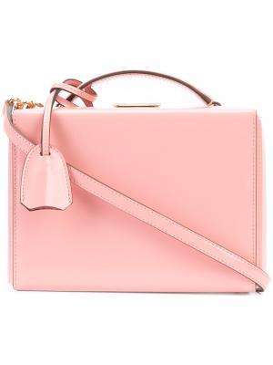 Мини сумка на плечо Grace Mark Cross. Цвет: розовый и фиолетовый