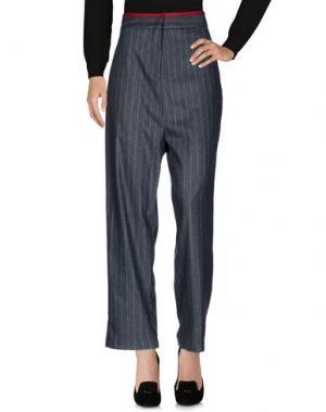 Повседневные брюки LIIS - JAPAN. Цвет: свинцово-серый
