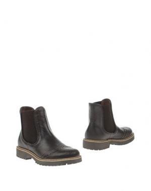 Полусапоги и высокие ботинки JARRETT. Цвет: темно-коричневый