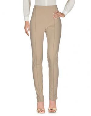Повседневные брюки LE TRICOT PERUGIA. Цвет: песочный