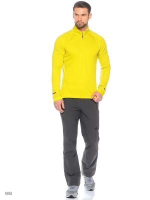 Джемпер Xperior Active Top Adidas. Цвет: желтый, салатовый