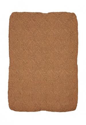 Плед Arloni. Цвет: коричневый