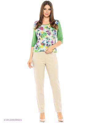 Блузка HI1. Цвет: зеленый