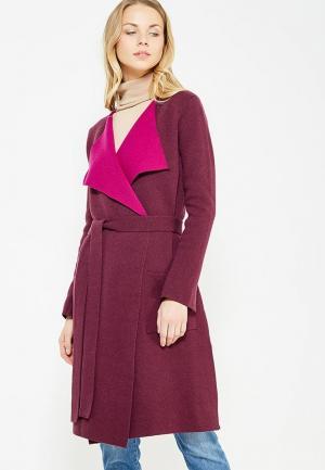 Пальто Max&Co. Цвет: фиолетовый