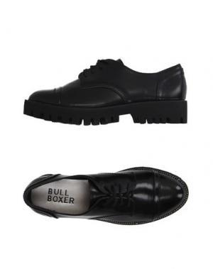 Обувь на шнурках BULL BOXER. Цвет: черный