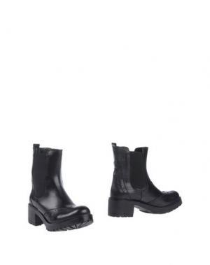Полусапоги и высокие ботинки BRAWN'S. Цвет: черный
