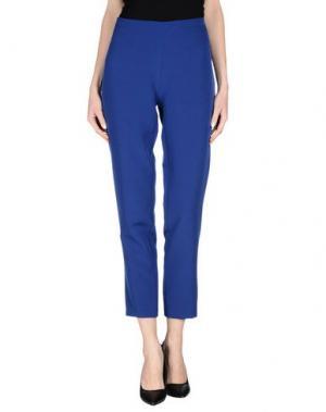 Повседневные брюки DANIELA DREI. Цвет: темно-синий