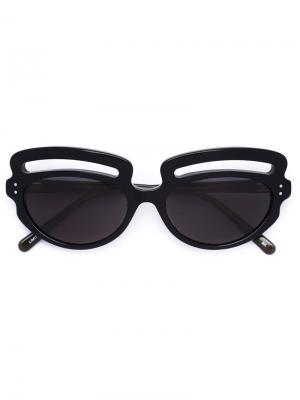 Солнцезащитные очки Paola Pivi x LizWorks Selima Optique. Цвет: чёрный