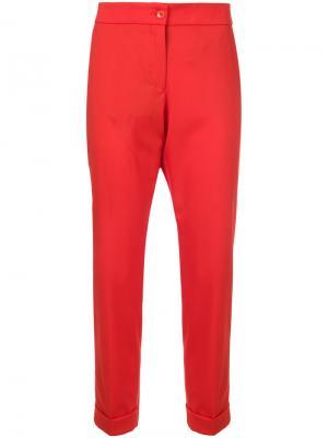 Укороченные брюки Etro. Цвет: красный