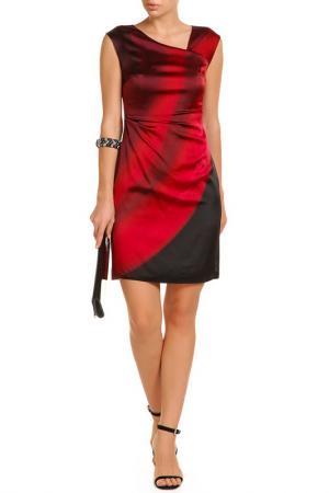 Платье Elie Tahari. Цвет: красный