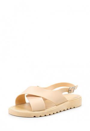 Сандалии Sweet Shoes. Цвет: бежевый